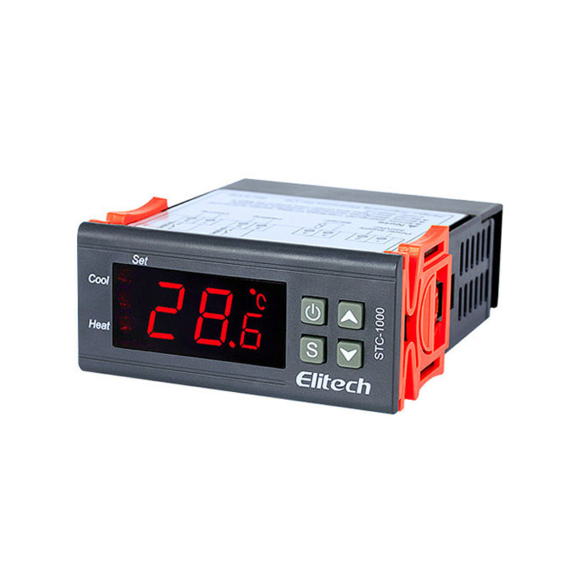 50-99 Degree STC-1000 110V / 220V Newest Digital LCD Thermostat Regulator digital temperature controller for incubator stc 1000 digital all purpose temperature controller with sensor for aquarium