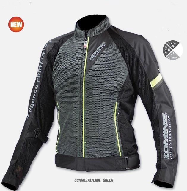 2017 été mesh respirant JK098 moto rcycle vestes moto cross moto rcycle veste de protection hommes extérieur équitation veste