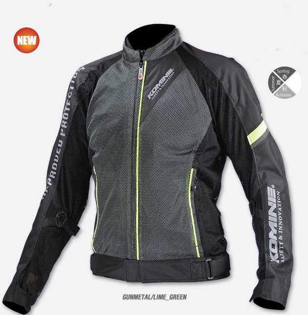 2017 summer mesh breathable JK098 motorcycle jackets motocross moto motorcycle protective jacket men