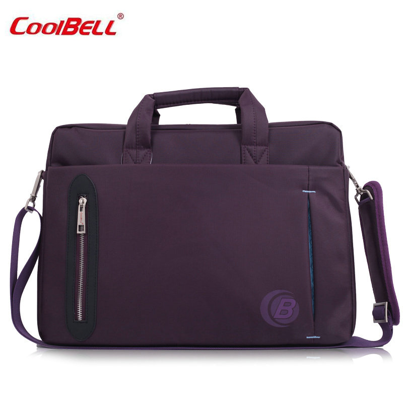 2017 Hot COOLBELL Messenger Bag For Macbook Air,Pro,11,12,13 inch, Handbag Case For Laptop 13.3 inch, Free Drop Shipping-FF hot pu leather sleeve case for macbook air 11 air 13 retina 13 3 inch pro 15 4 envelope bag wholesales free drop shipping