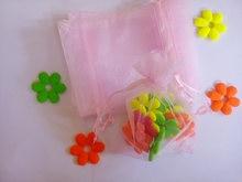 500 шт органза для упаковки украшений 10 х15 см
