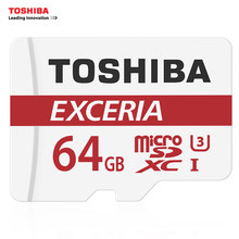 TOSHIBA Micro SD Card 64GB SDXC  U3 90MB/S 4K Memory Card Flash Memory Microsd for Smartphone Official Verification