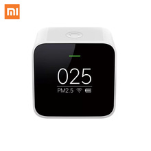 Original Xiaomi Mijia PM2.5 Detector Xiaomi Air Quality Tester OLED Screen Smart Sensor Smart Control APP Adapt Mi Air Purifier