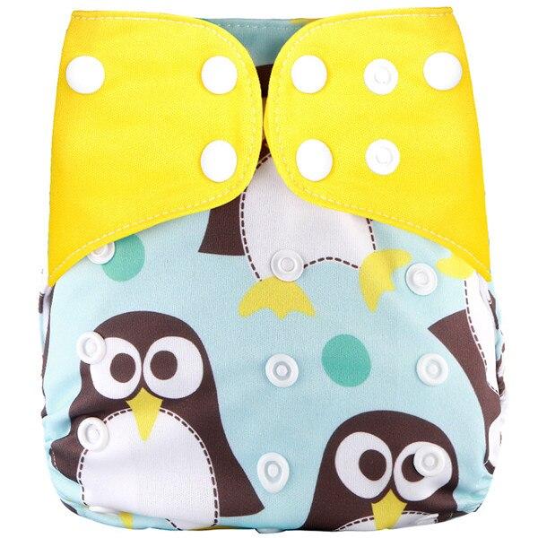 [Simfamily] Новые детские тканевые подгузники, регулируемые подгузники для мальчиков и девочек, Моющиеся Водонепроницаемые Многоразовые подгузники для новорожденных - Цвет: NO23