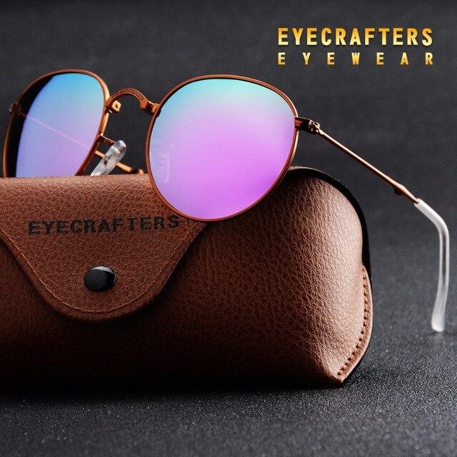 9af12247ddf Purple Portable Foldable Folding Sunglasses Polarized Mens Womens Fashion Retro  Vintage SunGlasses Driving Mirrored Eyewear