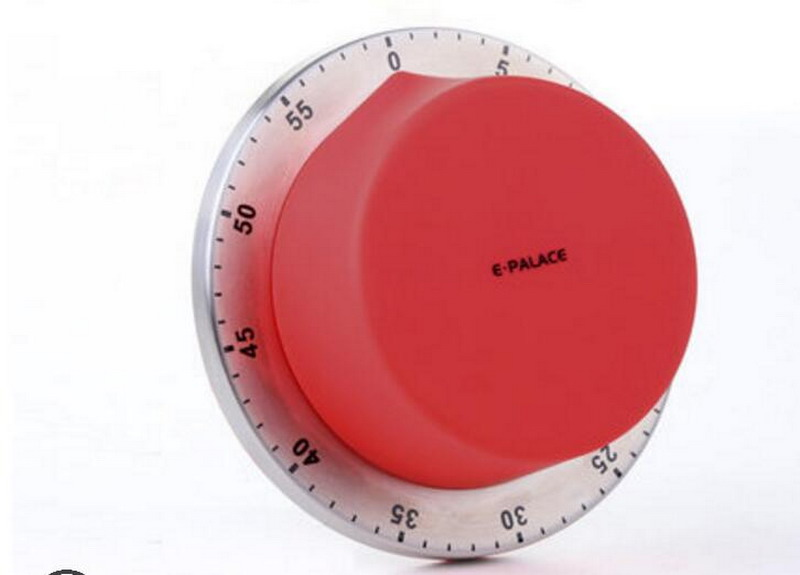 Kitchen Timer Magnet Creative Reminder Mechanical Countdown Student Cute No Battery Required Timers