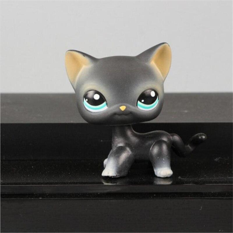 Pet Shop Cat #415 игрушки животных Kitty рисунок куклы для детей игрушки Бесплатная доставка Новогодние товары GI