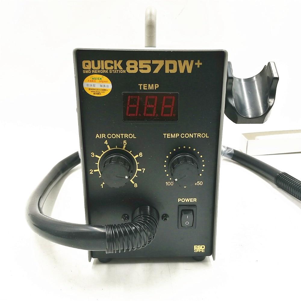 QUICK 857DW + bezolovnatá nastavitelná horkovzdušná tepelná - Svářecí technika - Fotografie 3