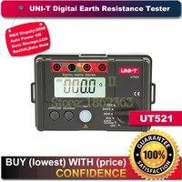 UNI T UT521 Digital Earth Resistance Tester Ohmmeter Voltmeter