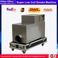 DJ stage special effect 3500W Co2 low smoke fog machine large power stage low smoke Co2 fog machine