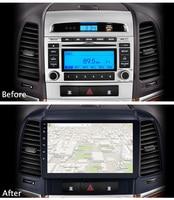 9 Super Slim Touch Screen Android 8.1 radio GPS Navigation for HYUNDAI Santa Fe santafe 2006 Stereo Multimedia with Bluetooth