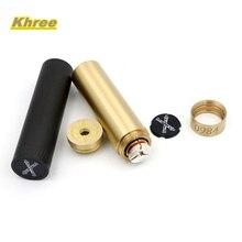 Khree Andanada diseño único mod Cigarrillo electrónico Mecánica mod 18650 mod 510 Hilo atomizador