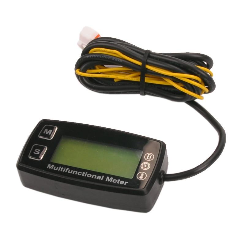Rəqəmsal LCD RL-HM035T takometr saat sayğac termometr qaz üçün - Motosiklet aksesuarları və ehtiyat hissələri - Fotoqrafiya 4