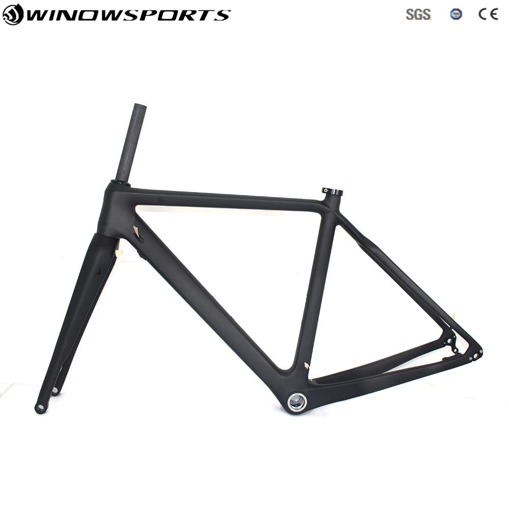 Full Carbon Cyclocross Bike Frame Carbon Gravel Bicycle Frame Chinese Cyclocross Frame Carbon CX Disc Cyclocross Bike Frameset цены онлайн