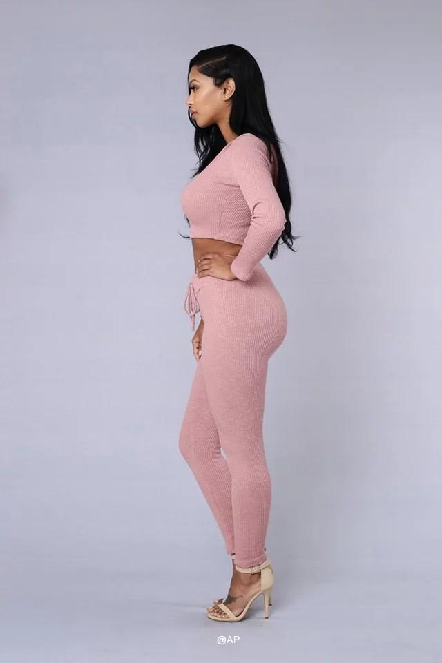 HTB1CBu.NFXXXXckXFXXq6xXFXXXj - Tracksuit Women Sexy Ribbed Hoodies Set Casual Long Sleeve JKP055