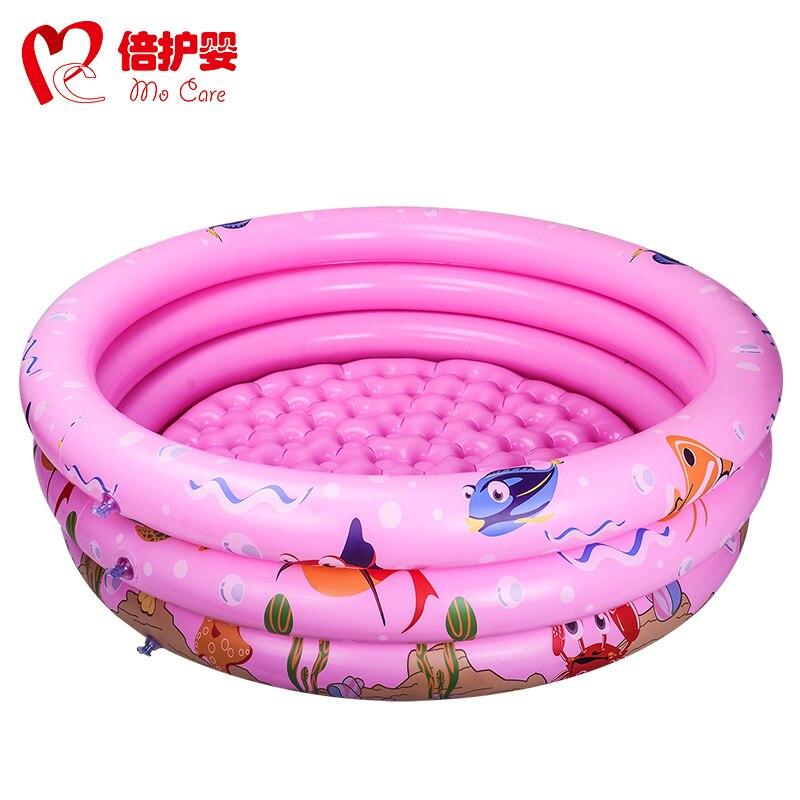 0 120*30cm Kids Inflatable Swimming Pool, Baby Bath Tub, Baby Toys baby large inflatable swimming pool with inflatable slide pool child baby kids infant bath tub inflatable baby swimming pool