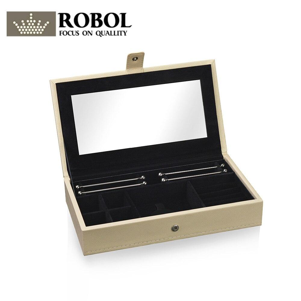 Ювелирные изделия Подарочная коробка ROBOL кольцо, кулон браслет шкатулка