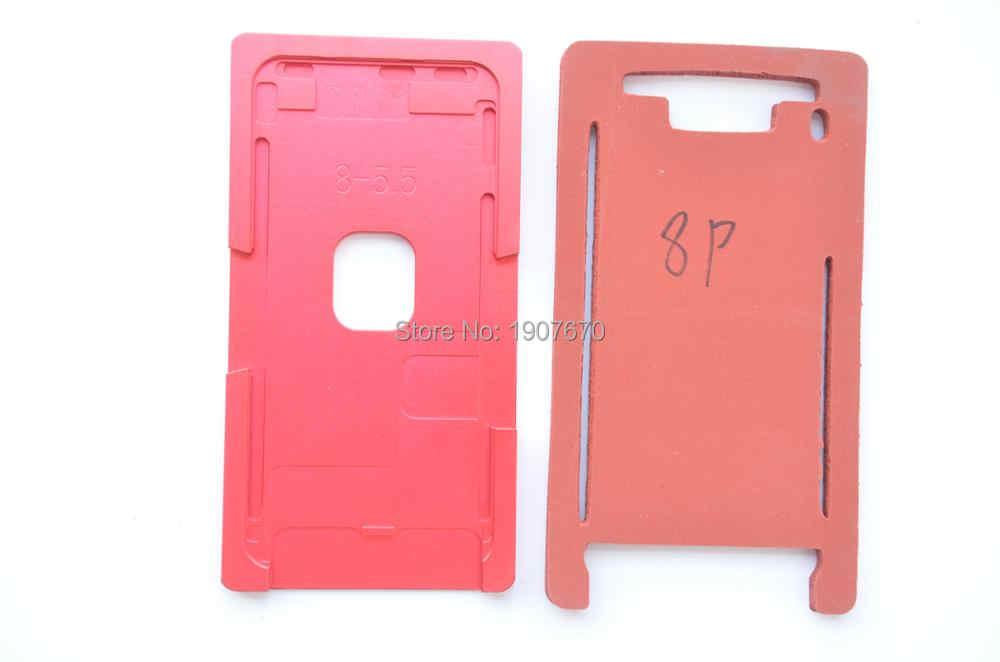 جديد الزجاج الأمامي إطار ألمونيوم دقيق العفن ل فون 5 5 s 6 6 s 7 8 زائد X XR XS ماكس تغليف المعادن العفن مع حصيرة
