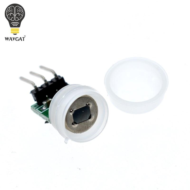 WAVGAT Mini IR Pyroelectric Infrared PIR Motion Human Sensor Automatic Detector Module AM312 Sensor DC 2.7 To 12V