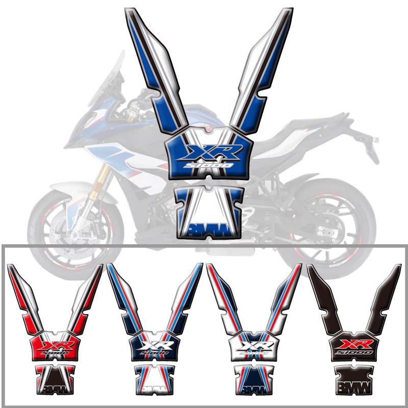 psler Motorcycle Gas Oil Fuel Tank Pad Protector Decal Sticker For S1000XR
