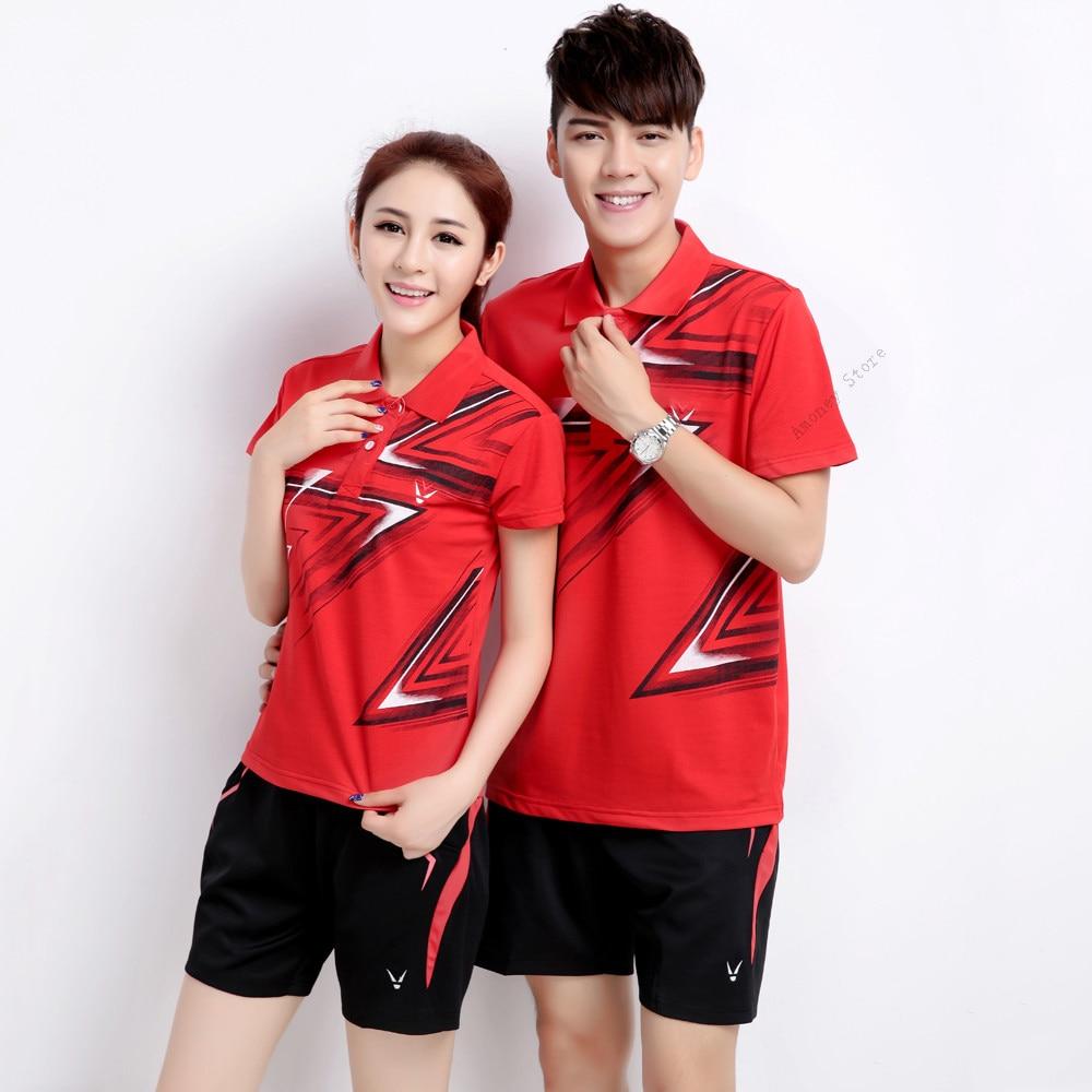 Adsmoney badminton Shirt Shorts Brand New Men s Polo Shirt For Men Women Polos Short Sleeve