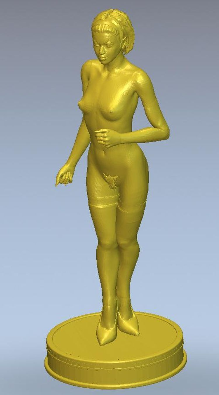 3d Model Relief  For Cnc Or 3D Printers In STL File Format Girls On The Circle