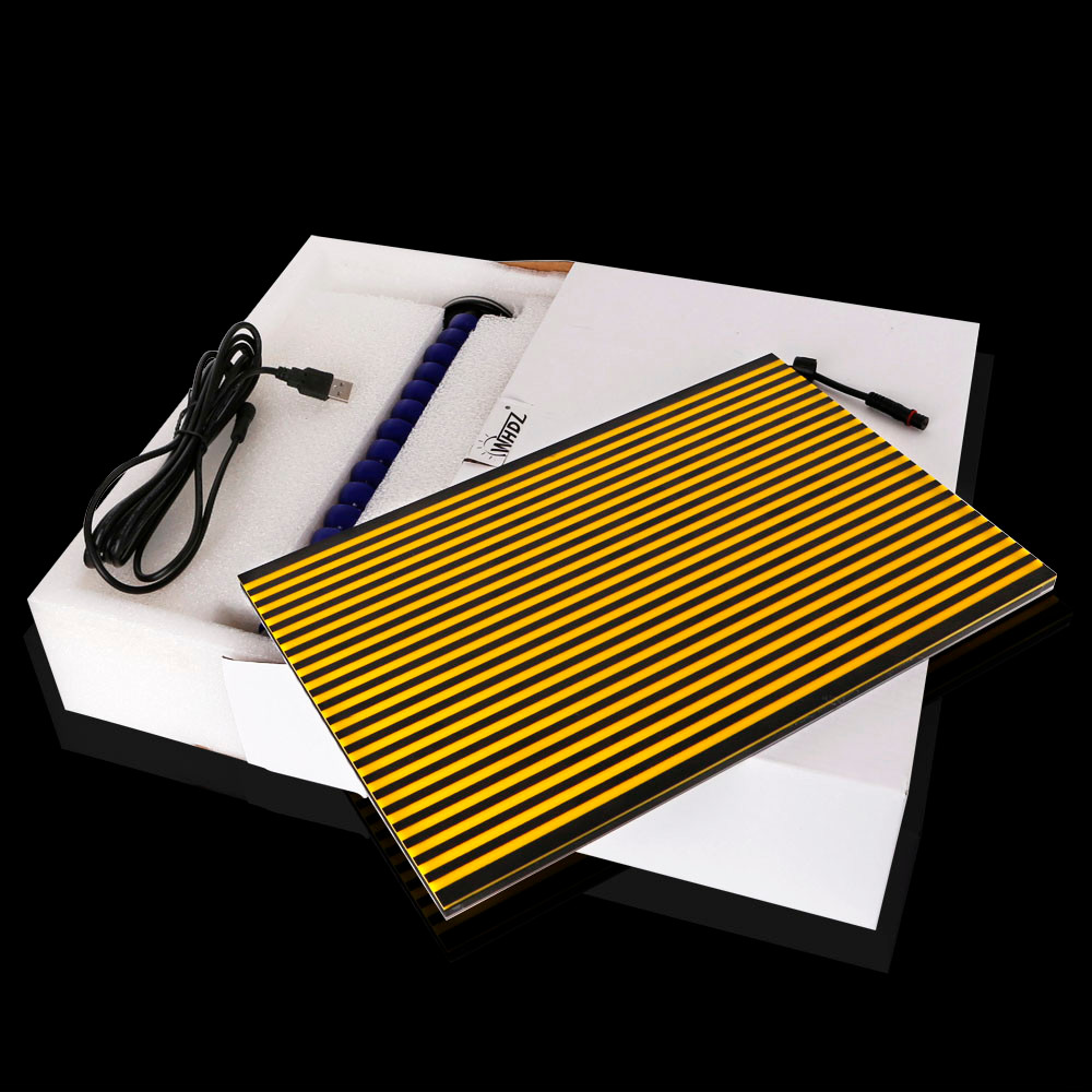 WHDZ PDR Strip Line Board Reflective Board PDR Light Lamp PDR Light for Dent Detection Hail Damage Repair with Ajustment Holder (2)