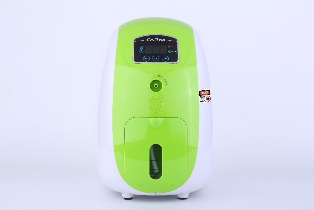 Oxygen concentrator oxygen generators portable 1L with PSA yy08 oxygen regulator oxygen table three months warranty