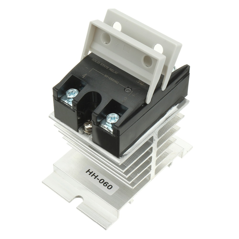 Hot Sale LSR1-1-380AA 80A AC to AC 90-250VAC to 24-440AC SSR Thermal Compound Solid State Relay + Heat Sink wsfs hot sale dc to ac single phase solid state relay ssr 40da 40a 90 480v ac heat sink