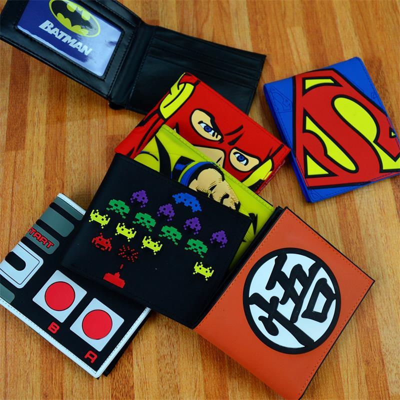 Hombre Wei marvel vengadores Capitán América, Spider-Man, Iron Man 2 Aegis tarjeta cartera periferia