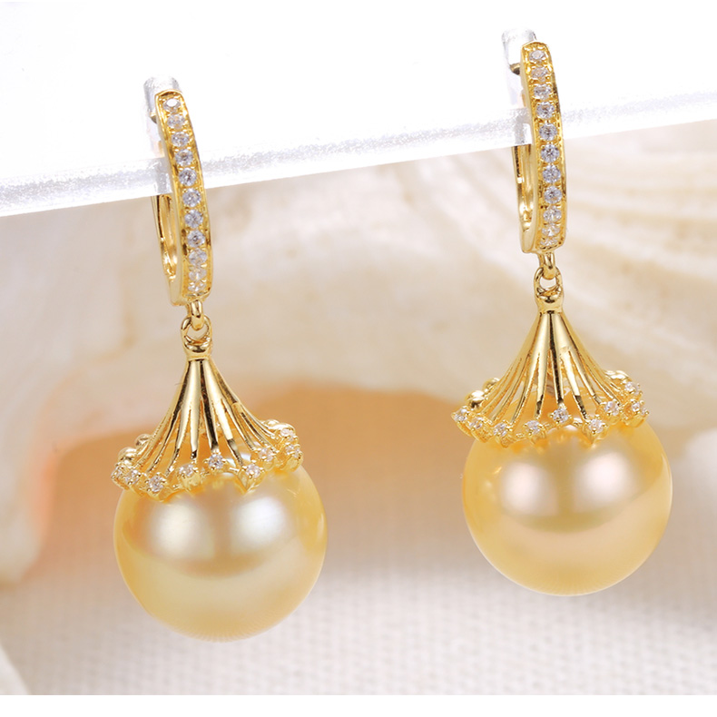 southsea pearls gold earrings 101