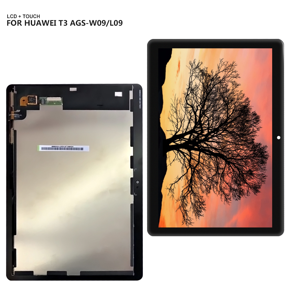 9.6 For Huawei MediaPad T3 10 AGS-L09 AGS-W09 AGS-L03 T3 9.6 LTE LCD Display with Touch Screen Digitizer Assembly for 9 6 huawei mediapad t3 10 ags l09 ags w09 ags l03 tablet lcd display matrix touch screen panel digitizer sensor replacement