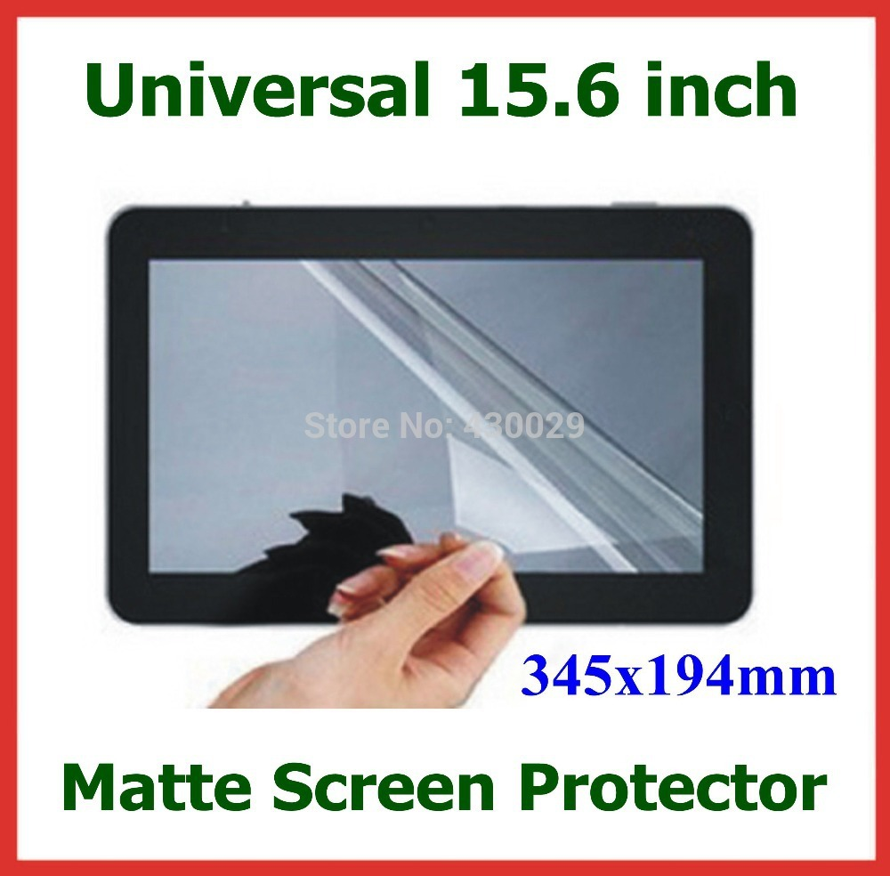 "5 pcs 15.6 ""Matte Film Pelindung untuk Laptop PC LCD Monitor Universal Anti-silau Screen Protector 15.6 inch Ukuran 345x194mm"