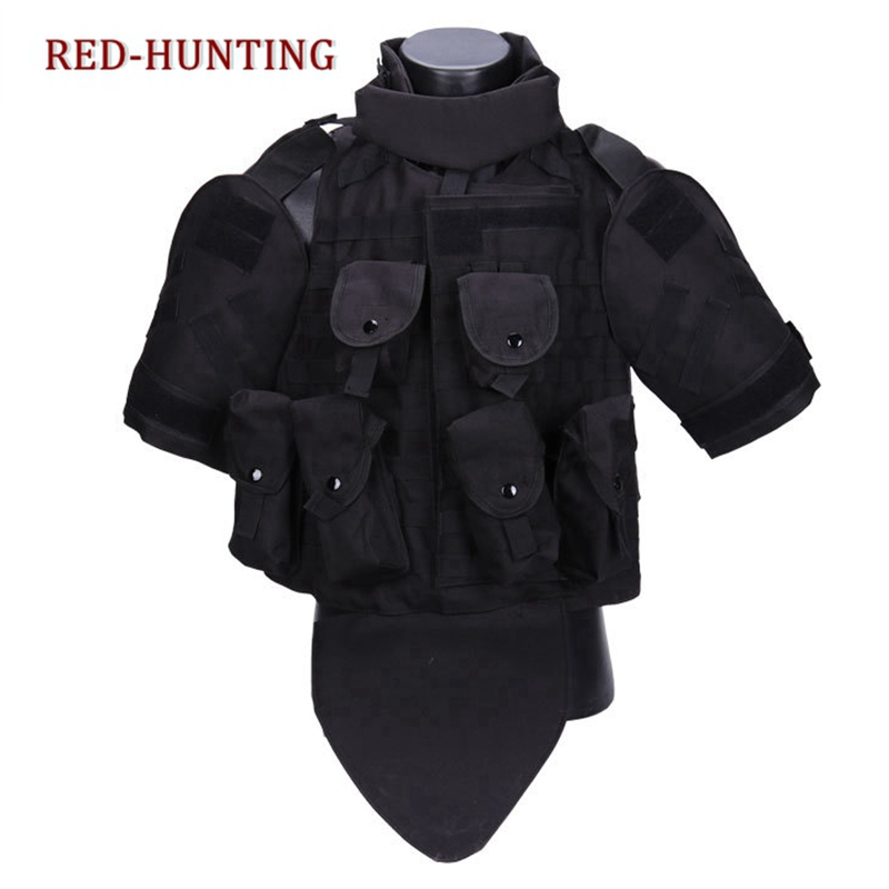 Men USMC Airsoft army Military Molle Combat Assault Plate Carrier Vest Outdoor Sports New hunting OTV