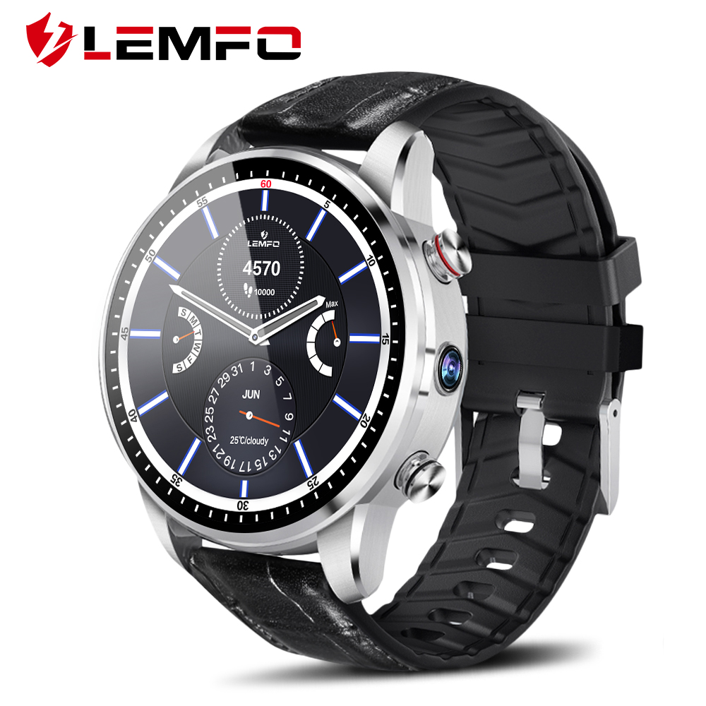 LEMFO LEF3 Smart Watch Android 7.1 GPS Smartwatch Men LTE 4G Smart Watch Phone Heart Rate 1GB + 16GB Memory with 2MP Camera|Smart Watches| |  - AliExpress