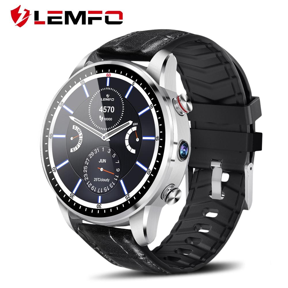 b377d5c01 LEMFO LEF3 Smart Watch Android 7.1 GPS Smartwatch Men LTE 4G Smart ...