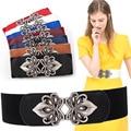 Female Waist Elastic Waist Belt  Lady Dress Skirt Waist Chain Women High Quality Buckle Waist Belt Fashion Waistband B-3562