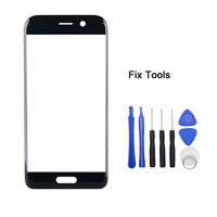 LOVAIN 1PCS Genuine Original Black For Huawei Honor Magic Front Glass Lens 5 7 Touch Screen