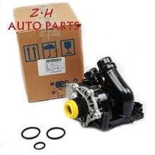 NEW EA888 Water Pump Thermostat Assembly 06H 121 026 CQ For VW Passat Golf Tiguan Jetta