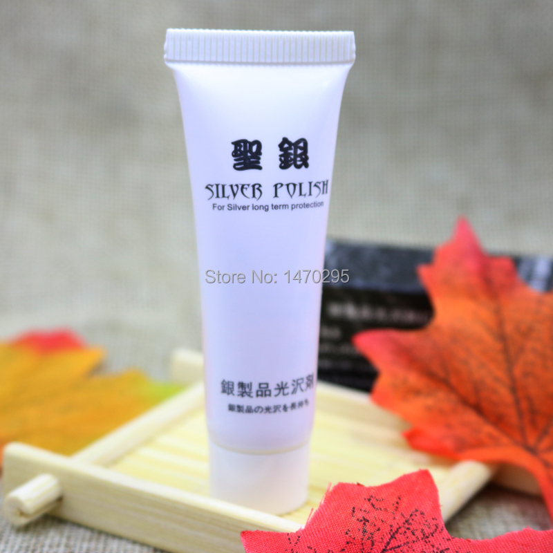 Anti Tarnish Silver Polishing Paste Cleaner Jewelry Cleaning 12ml in Jewelry Tools Equipments from Jewelry Accessories