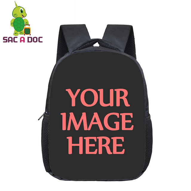 12 Inch Customize Backpack Children Kindergarten Backpack Kids Boys