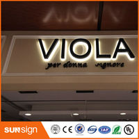 Wholesale Advertising Store Lighting Letters Sign LED Backlit Letters