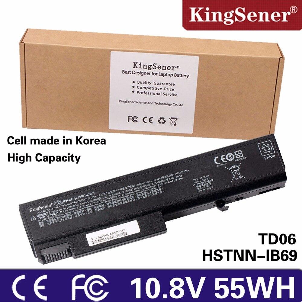 KingSener TD06 Laptop Battery for HP 6930P 8440P 8440W 6530B 6535B 6735B 6730B HSTNN-IB69 6500B 6440B 6550B 6445B 6450B 6540B 65 замена абсолютно новый аккумулятор для ноутбука hp compaq 6530b 6535b business notebook 6730b 6735b elitebook 6930p 8440p 8440w pr