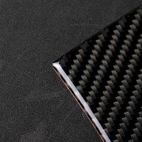 Carbon Fiber Stickers Decorative Cover Trim Strip For Car Control Gear Shift Panel X5 X6 Interior Stickers For Bmw F15 F16 3d