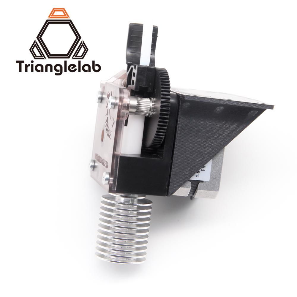 Prix pour 3d imprimante trianglelab titan extrudeuse pour 3d imprimante reprap mk8 j-tête bowden livraison gratuite en option prusa i3 support de montage