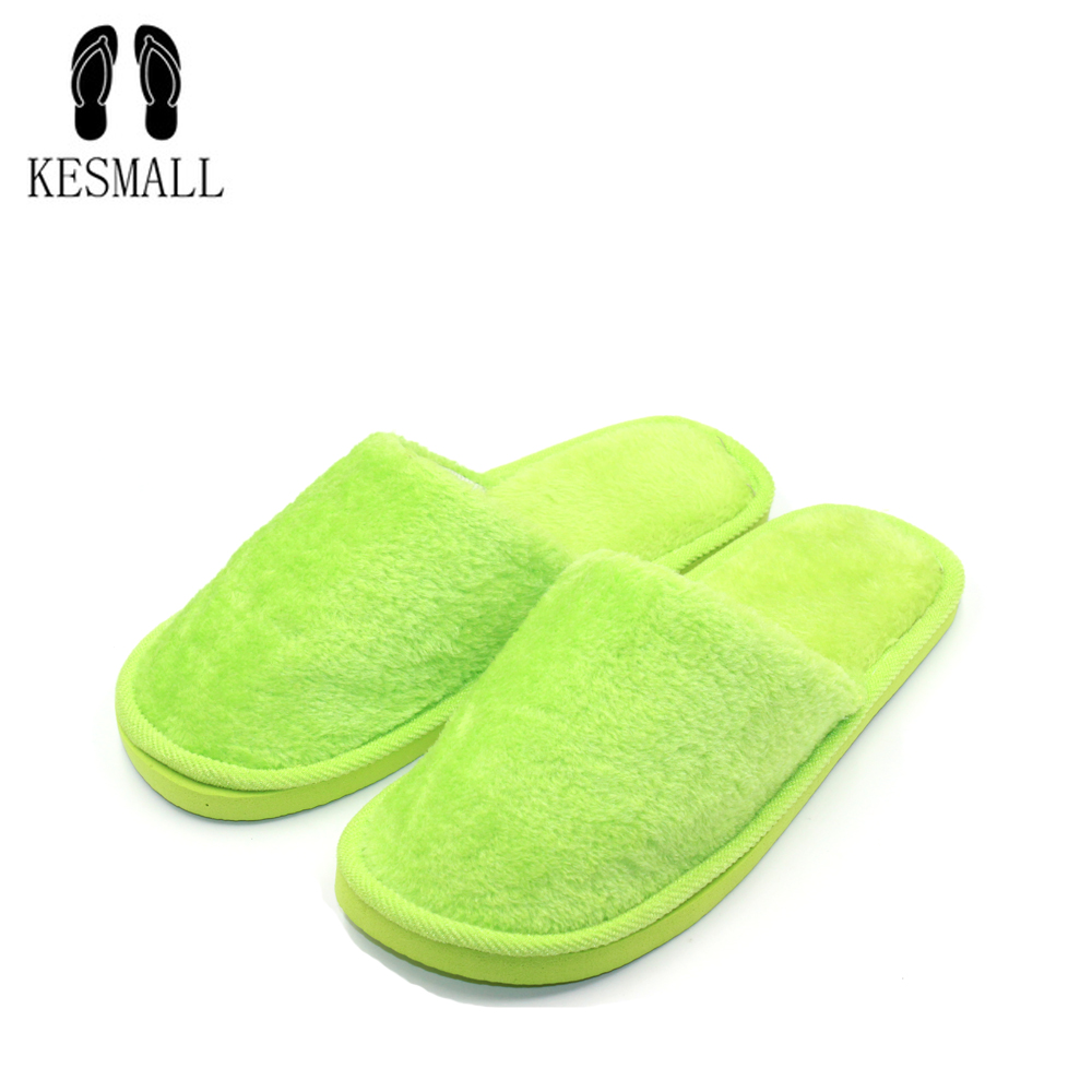 KEMALL Home Women Slippers Indoor Bedroom House Soft Cotton Warm Shoes Women's Slipper Female Flats Christmas Gift S304 home slippers soft plush cotton cute slippers shoes non slip floor indoor house home fur slippers women shoes for bedroom