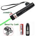 Pointeur Laser vert vue haute puissance chasse point vert tactique 532 nm 5 mW 303 laser pointeur verde Laser stylo tête brûlant Match