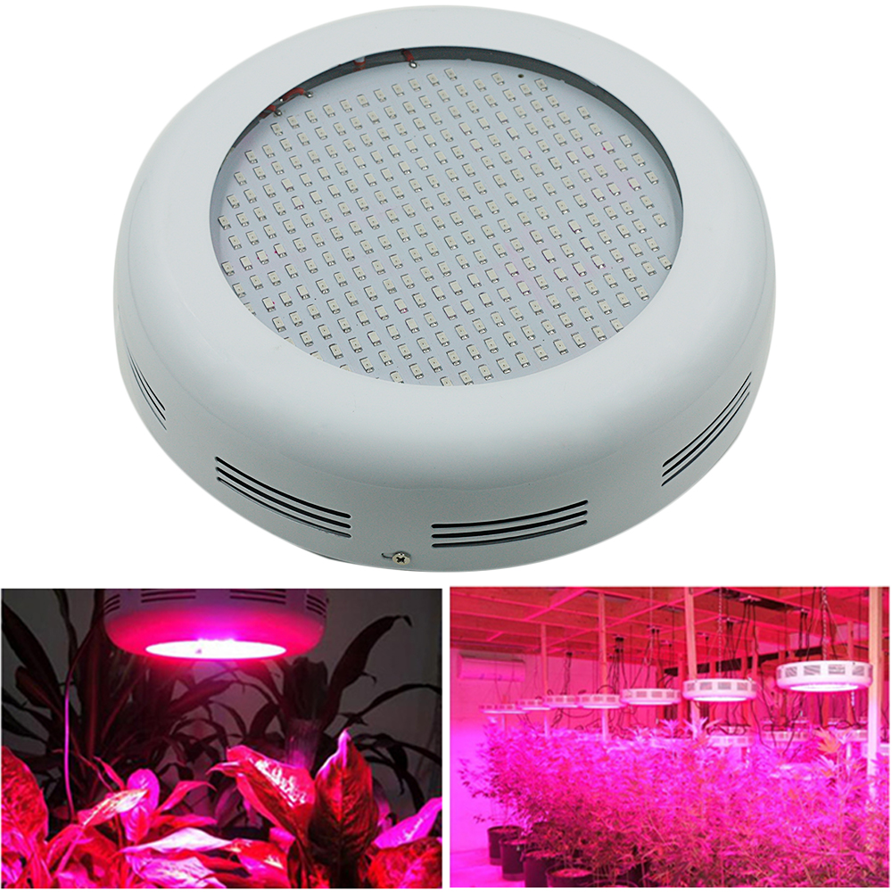 DHL/Fedex/EMS Express Shipping 300W 277SMD Red/Blue/White/UV/IR UFO Full Spectrum LED Grow Light For Growing and Flowering dhl ems fedex ya001