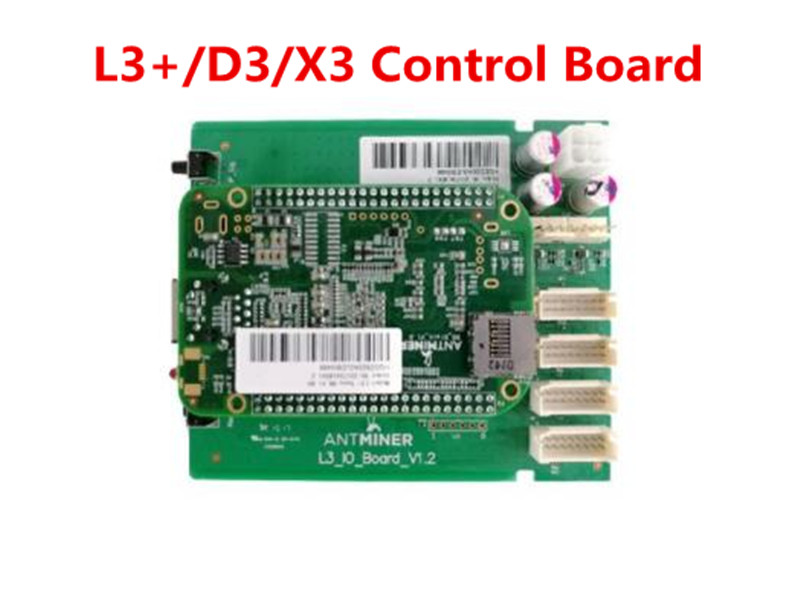 ANTMINER L3+ D3 X3 New Control Board Include IO Board And BB Board Control Board For ANTMINER L3+ D3 X3,FROM YUNHUI dashboard control board include io board and bb board bitcoin mining machine part for antminer l3 d repair parts