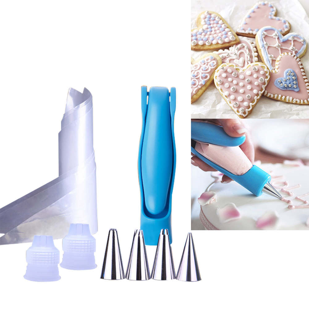 online get cheap writing decoration com alibaba group food writing pen decorating cake biscuit pastry fondant piping nozzles bag converter diy baking kitchen gadgets